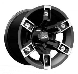 Brute Silver/Black Aluminum Rims
