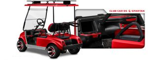 Club Car DS Sentry Dash