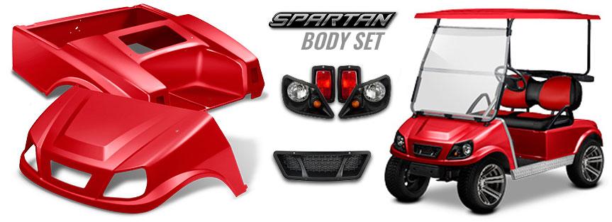 Spartan Body Set