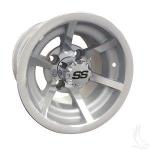 Evader ITP G5 Silver Aluminum Rims