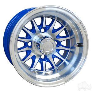 "Medusa/Phoenix Blue 10"" Aluminum Rims"