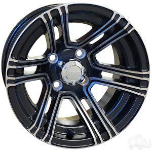 "RHOX RX360 Silver/Black 12"" Aluminum Rims"