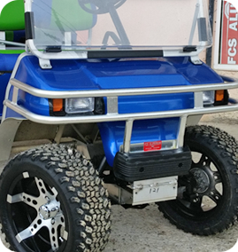 Golf Cart Custom Bumper