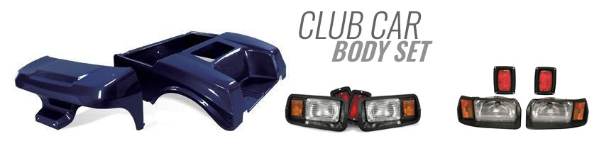 Club Car Body Set