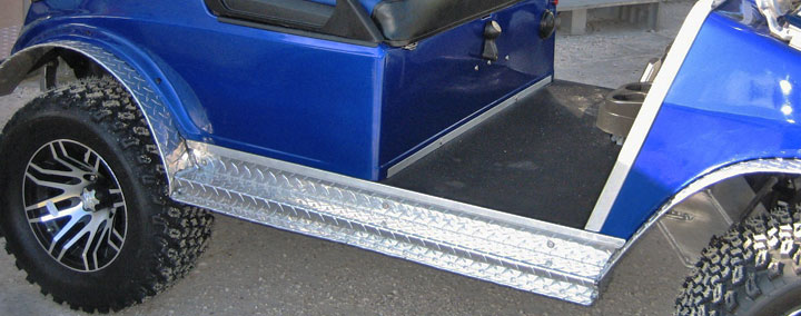 Diamond Plate Running Board