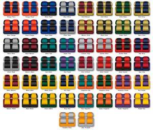 Fanatic Series Golf Cart Seat Cushions