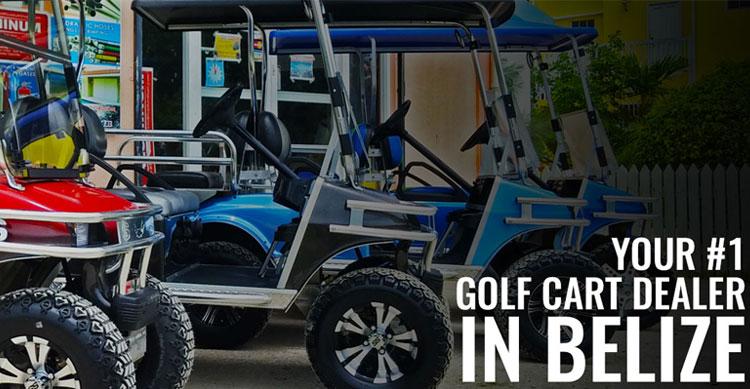 Your #1 Golf Cart Dealer in Belize