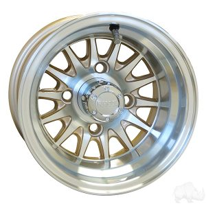 "Medusa/Phoenix Pearl 10"" Aluminum Rims"