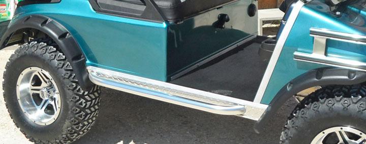 Plastic Fenders with Nerf Bars